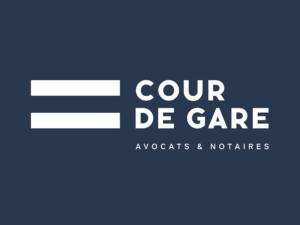 Logo Cour de Gare Avocat Notaire