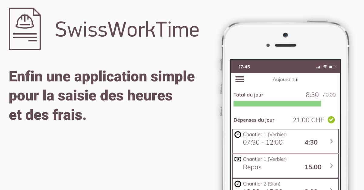 application SwissWorkTime