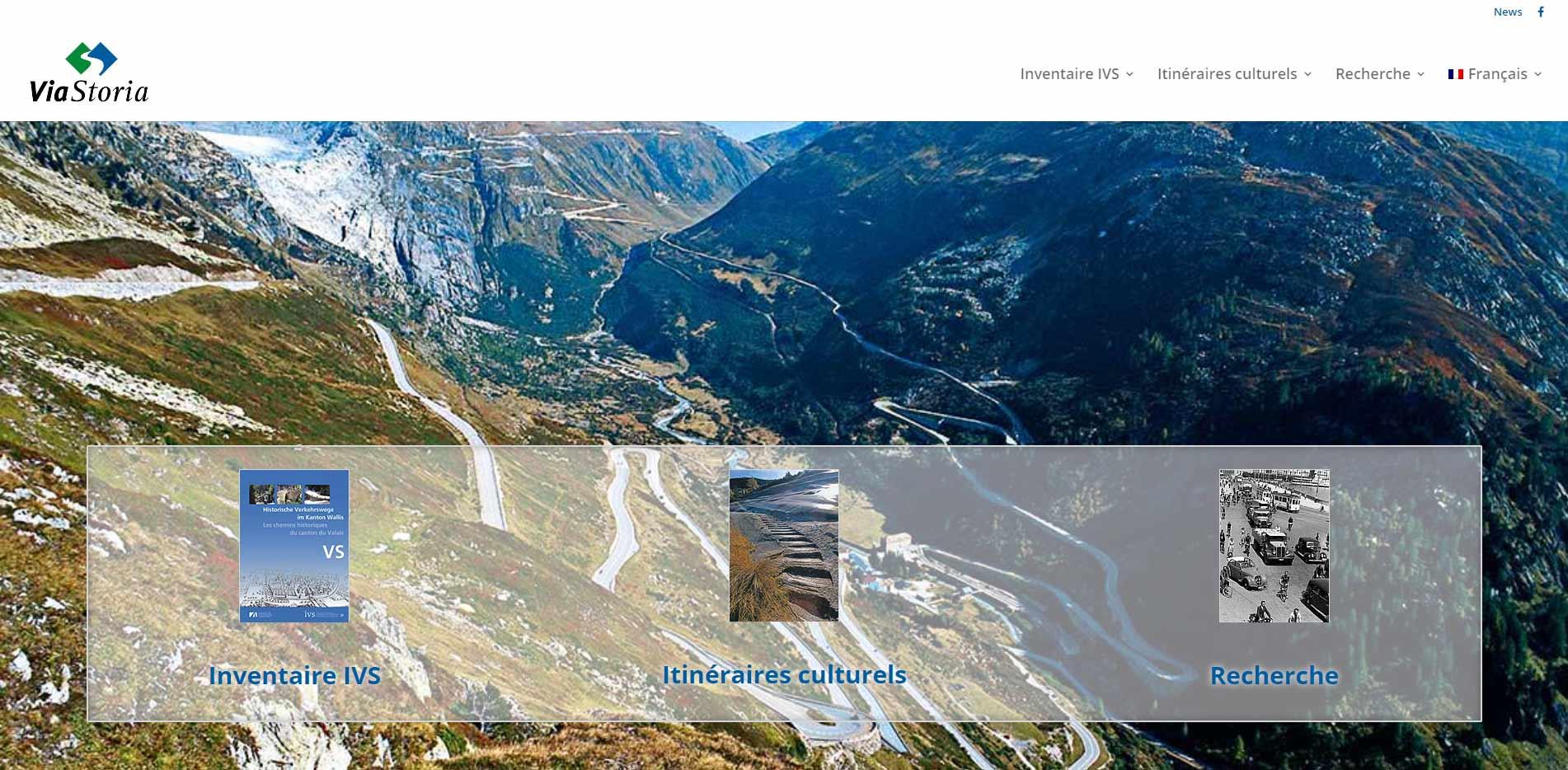 homepage viaStoria