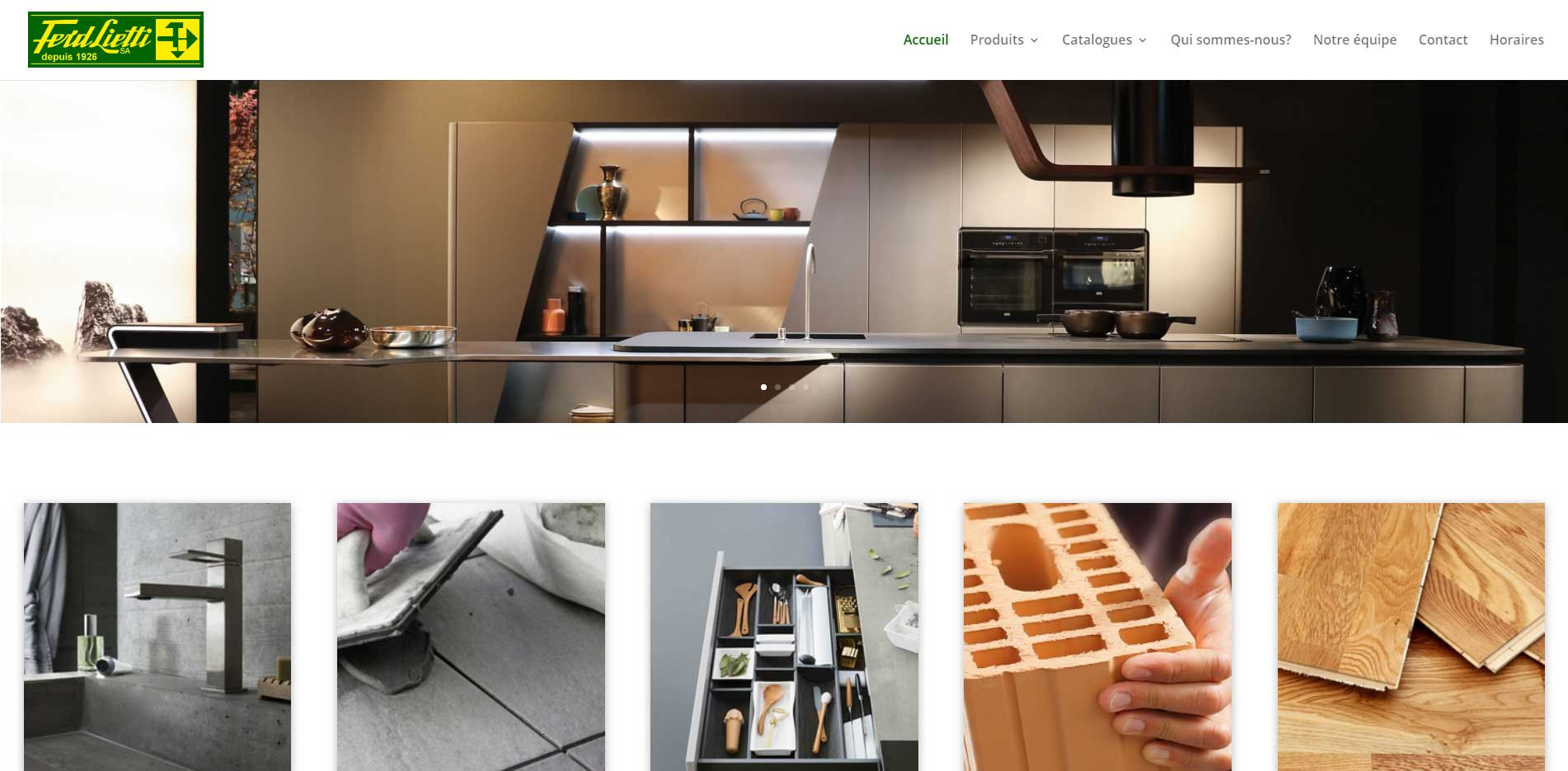 Lietti homepage