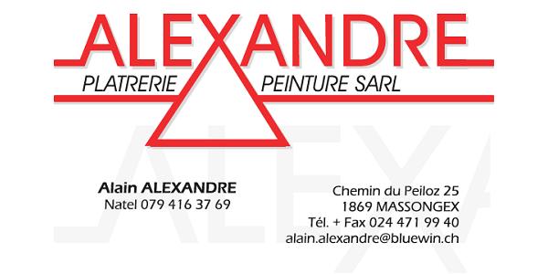 Logo Alexandre Plâtrerie Peinture Sàrl
