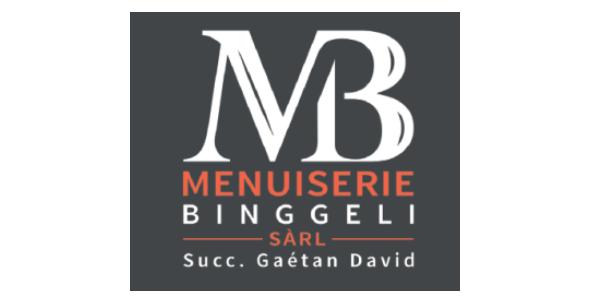 Logo Menuiserie Binggeli succ Gaétan David Sàrl