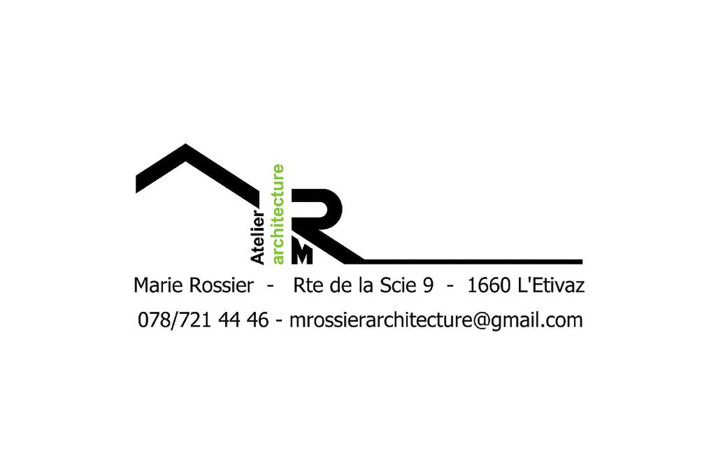 Logo Atelier d'architecture Marie Rossier