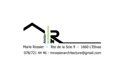 Atelier d'architecture Marie Rossier