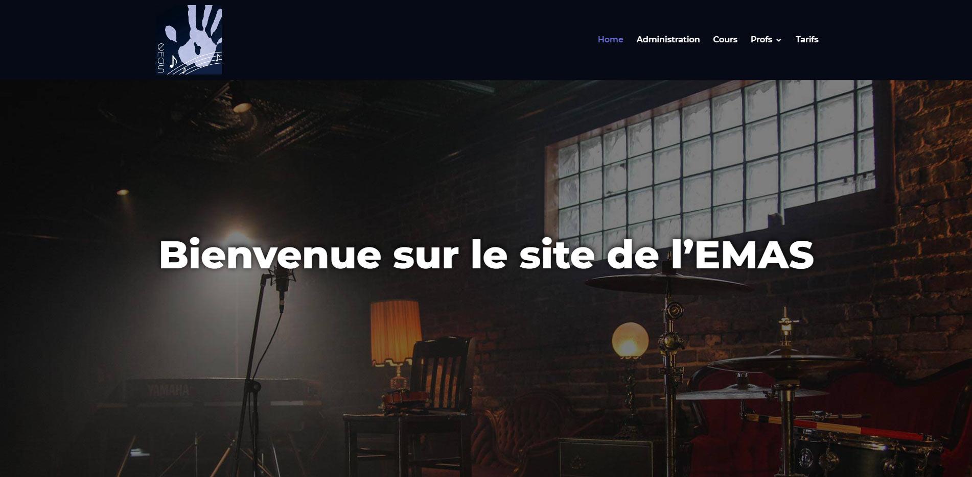 EMAS Savièse site web